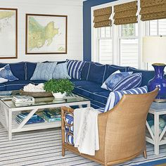 Go Bold with Color - The Living Room - Coastal Living