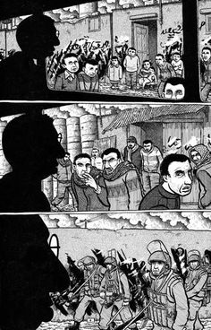 Palestine, Graphic Novel by Joe Sacco
