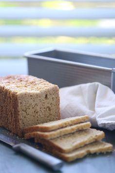 Gluten Free Sandwich Bread Recipe With Oats | WholeLifestyleNutrition.com