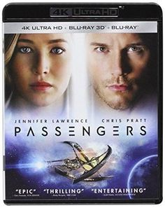 Jennifer Lawrence & Chris Pratt & Morten Tyldum-Passengers 4K Ultra HD