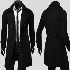 I need something just like this but in a women's size. I wonder if an XS would fit me in this? SALE-TOP-DESIGN-Men-Slim-Fit-Outwear-Casual-Formal-Trench-Coats-Jackets-Overcoat
