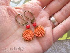 bridesmaid earrings?