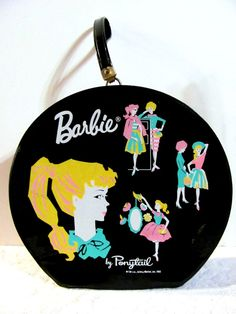 Barbie Hat Box. I have a miniature one of these from the Hallmark Christmas Barbie Ornaments (cc)