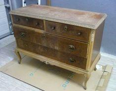 Cómo renovar un mueble clásico para conseguir un estilo totalmente modernizado Provence Style, Chalk Paint, Dresser, Antiques, Diy, Painting, Furniture, Home Decor, French