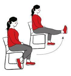 Polvivaivaisen voimajumppa | Hyvä Terveys Get In Shape, Personal Trainer, Gym Workouts, Pilates, Health Fitness, Lifestyle, Sport, Excercise, Motivation