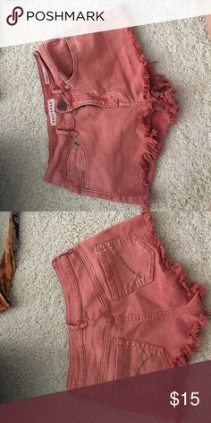 Selling this Bullhead denim shorts from PacSun on Poshmark! My username is: gen_goldthorpe. #shopmycloset #poshmark #fashion #shopping #style #forsale #PacSun #Pants