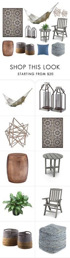 """""""Hammock in Style"""" by ashleyhomestore on Polyvore featuring interior, interiors, interior design, home, home decor, interior decorating and Perrin"""