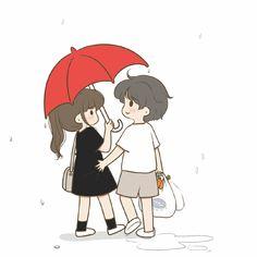 Cute Chibi Couple, Cute Couple Cartoon, Cute Cartoon Pictures, Cute Couples Photos, Love Photos, Romantic Couples, Cartoon Love Photo, Cute Couple Wallpaper, Cute Love Cartoons