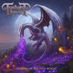 """Recenzja płyty """"Heroes Of Mighty Magic"""" Twilight Force-> http://heavy-metal-music-and-more.blogspot.com/2016/11/twilight-force-heroes-of-mighty-magic.html"""