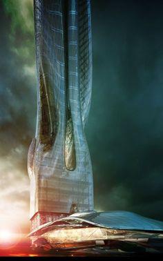 Office Tower and Exhibition Center Proposal / MA2 [Future Architecture: http://futuristicnews.com/category/future-architecture/]