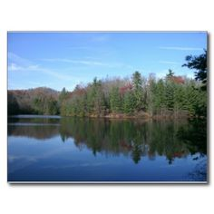 West Virginia Lake Post Cards!  All these #postcards were made from #photos taken in #West #Virginia!  They are the perfect size to #frame, or send to a friend!  Please visit www.zazzle.com/dww25921*  for more #products!