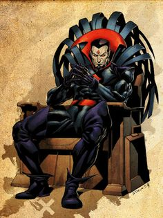 Mr. Sinister - I see his face and feel myself die a little inside.....