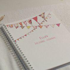 Bunting journal...