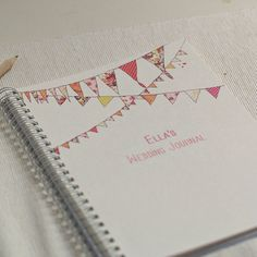 Bunting journal...
