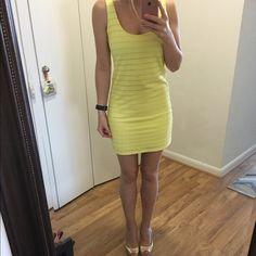 Yellow Zara Dress - size S Perfect summer dress by Zara Trafaluc collection • size small Zara Dresses Mini