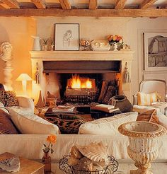 Warm & Inviting Living Room