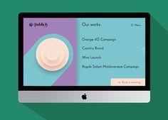 Publicis Moldova Web Design on Behance