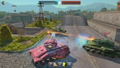 Tanki X is a Free-to-play, fast-paced Shooter MMO Game with futuristic Tanks.