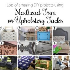 Applying nailhead trim and upholstery tacks {Reality Daydream} Diy Furniture Upholstery, Paint Upholstery, Living Room Upholstery, Upholstery Cushions, Upholstery Cleaner, Upholstery Repair, Furniture Update, Furniture Removal, Furniture Makeover