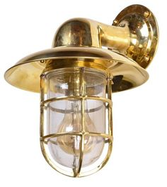 NAUTICAL CAGE SHIP SCONCE