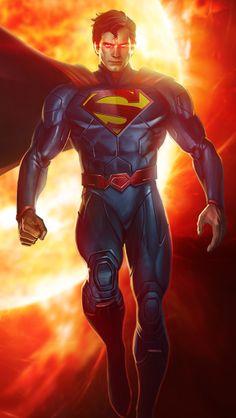 Superman Artwork, Superman Wallpaper, Supergirl Superman, Batman Vs Superman, Batman Armor, Arte Dc Comics, Superman Man Of Steel, Dc Comics Characters, Comic Movies