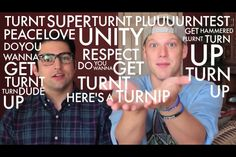 Pentatonix Scott and Mitch TURNT UP!!! *heres a turnip!* xD SUPERFRUIT