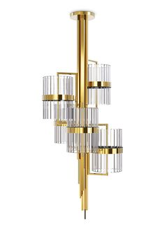 The new Liberty Chandelier is inspired in one of the most famous statues in the world: Statue of Liberty! Get inspired: http://www.luxxu.net | #lightingdesign #luxurydesign #interiordesign