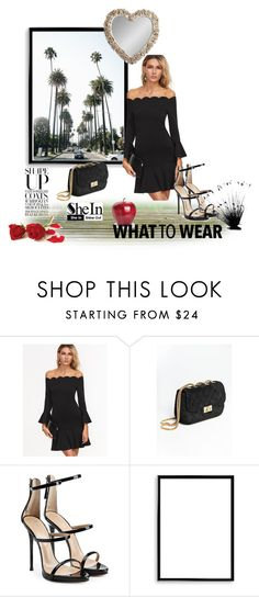 """my style"" by necupo ❤ liked on Polyvore featuring Giuseppe Zanotti, Bomedo and Gallery"