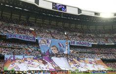 Tifo Santiago Bernabéu ya ataca mi Madrid - Real Madrid