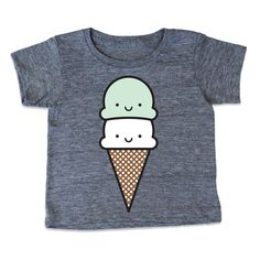 Even though it's winter I still crave this ice cream tee for little Grey's wardrobe