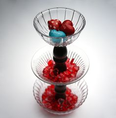 http://savedbylovecreations.com/2013/01/tiered-stand-from-dollar-store-dishes.html