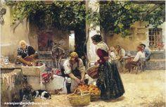 Vendedor de naranjas - Joaquin Sorolla