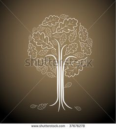 stylised tree drawing without leaves - Google Search