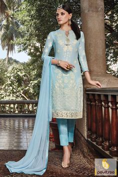 Ice #Blue #Georgette #Santoon Party Salwar Suit Online Shopping http://www.pavitraa.in/store/partywear-salwar-suit/?utm_source=pk&utm_medium=pinterestpost&utm_campaign=30Dec #salwarsuits, #salwarkameez, #newyeardresses, #designersalwarsuits, #bollywoodsalwarsuits, #anarkalisalwarsuits, #straightsalwarsuits, #embroiderysalwarsuits, #wholesalecatalog, #churidarsuit, #palazzo, #festivaloffer Call/ WhatsApp : +91-7698234040  Email _Id : info@pavitraa.in