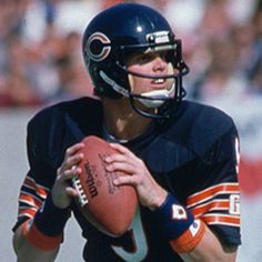 Jim McMahon - this photo almost makes it look like Jim is wearing sunglasses - wouldn't surprise me at all.