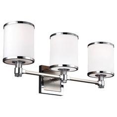 Feiss Prospect Park VS23303SN/CH 3 Light Bathroom Vanity Light
