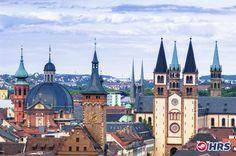 Weltkulturerbestadt #Würzburg. Das 4-Sterne Main #Hotel Eckert eignet sich wunderbar für einen gemütlichen Aufenthalt zu zweit. Unternehmt ausgiebige Wanderungen in die nahe gelegenen Weinberge und besichtigt Würzburgs Wahrzeichen, die majestätische Residenz. Das DZ zu zweit bekommt ihr für nur 42€.