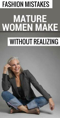 Fashion Mistakes Mature Women Make Without Realizing - 101FASHIONtips.com