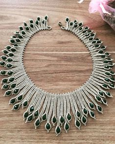 The 12 Best Seed Bead Jewelry 2017 Scheme for Pearls & Roses Seed Bea . - The 12 Best Seed Bead Jewelry 2017 Scheme for Pearls & Roses Seed Bead Tutoria … – DIY Jewelry - Beaded Necklace Patterns, Beaded Jewelry Designs, Bracelet Patterns, Necklace Designs, Beaded Bracelets, Necklace Ideas, Beading Patterns, Beading Ideas, Beading Tutorials