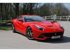 Used 2013 ( reg) Red Ferrari F12 Berlinetta 2dr Auto for sale on RAC Cars