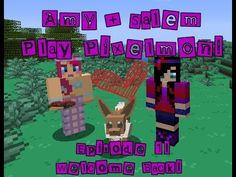 Amy and Salem play PIXELMON! [1] Amys Spirit Guide. - YouTube