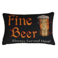 Picture of Fine Beer Pillow 12x20-in