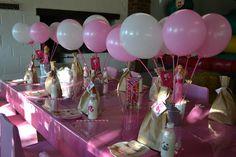 Barbie table decor