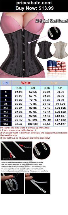 77b5a82e2cb3c Women-Shapewear  28 Steel Boned Waist Cincher Trainer Black Beige Underbust  Corset Plus