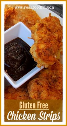 Gluten Free Chicken Strips from the Queens Cookery! Gf Recipes, Dairy Free Recipes, Whole Food Recipes, Cooking Recipes, Spinach Recipes, Kitchen Recipes, Healthy Recipes, Chicken Recipes, Fish Recipes