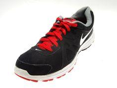 Mens NIKE REVOLUTION 2 Black/White Athletic Running Fitness Sneakers Size 10 #Nike #RunningCrossTraining