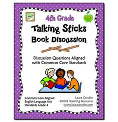 Talking Sticks is a management strategy that encourages all students to participate equally in a discussion. It can be used after reading a book aloud, as a part of Literature Circles, during small group literacy instruction, or when conducting a whole class novel study.