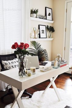 I love the way my home office refresh looks! I think it has inspired me to continue this light, bright, nautical theme throughout the rest of my home this spring. And to think the inspiration came from a little octopus from HomeGoods! Sponsored by HomeGoods