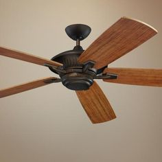 """60"""" Monte Carlo Cyclone Energy Star  Indoor Out Ceiling Fan -"""