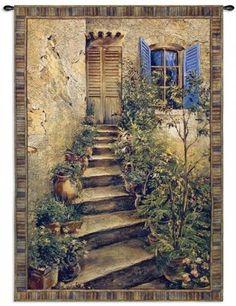 Tuscan Villa II Tapestry - Tapestries - Wall Decor - Home Decor | HomeDecorators.com
